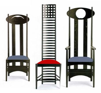 charles rennie mackintosh 4 michael nassar. Black Bedroom Furniture Sets. Home Design Ideas